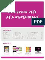Ordering Keto at a Restaurant