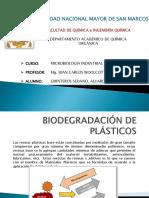 Biodegradación de Plásticos - Quinteros - UNMSM