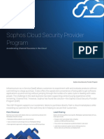 Sophos Cloud Security Provider Brochure