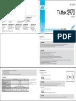 Ti-maxs970 Om-t0377e-000 Operation Manual en de Fr Es It