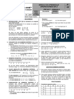 Vacacional SJ - 1° y 2° sec. - Matemática - Operaciones en Z - 2017