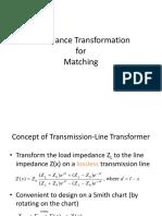 4.Impedance Transformation Techniques