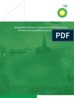 BP's Report on Deepwater Horizon Containment Response