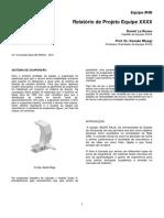 Relatorio de Projeto - Formato de Publicações Técnica SAE (2)