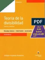 TeoriaDeLaDivisibilidad-WilliamHuamanArotoma