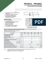 Data Sheet pr1001l