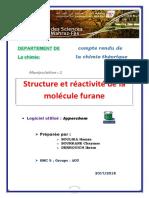 molécule furane