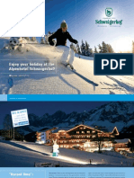 Winter Brochure Hotel Schwaigerhof Austria Skiresort Schladming