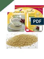 Etiqueta de Envase de Producto Quinua
