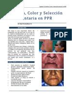 Estética Color y Selección Dentaria en PPR