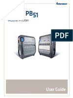 PB50 and PB51 Mobile Printer User Guide PDF (1)