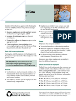 Paid Sick Leave Fact Sheet