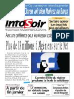 Journal Info Soir Du 05.01.2018