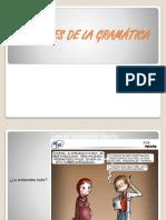 PARTES DE LA GRAMATICA
