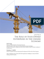 Role of State Owned Enterprises China