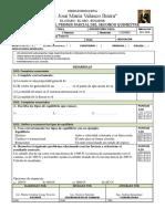 Instrumento de Evaluacion 4º Parcial