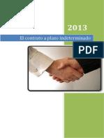 EL CONTRATO A PLAZO INDETERMINADO.docx