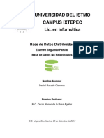 Base de Datos No Relacional