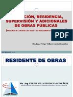 Residencia y Supervisión de Obra