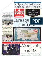 Journal Le Soir d Algerie 06 01 2018