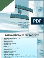Giovanna Pancreatitis