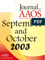 JAAOS - Volume 11 - Issue 05 September & October 2003