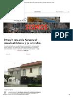 Aprovechan Sismo Para Invadir Casa en La Narvarte y Ponerla en Venta