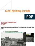 Earth Retaining Systems