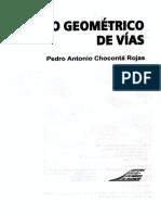 Diseno Geometrico de Vias - Choconta