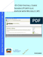 Step-By-Step Install Guide Mahara ePortfolio & Integration with Moodle LMS v1.0