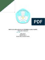 Rpp Mapel Pjok k4 s2