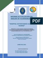 Informe Ish Vrg - Huaraz 2015