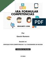 KitFormularCompetencias Kit Educar21 Ver1.0 Prueba
