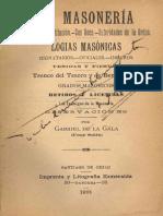 La masonería, Gabriel dela Gala, 1901.pdf