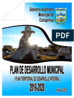 Pdm 2016_2020 Gam Colcapirhua