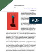 Piñero Antonio - 2017 - Comenario a López_La Resurrección de Hombre a Dios