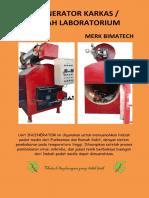 Incinerator Limbah Laboratorium Medis merk Bimatech PT. Mitra Batavia Semesta