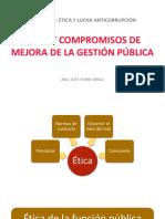 Ética y compromisos de mejora de la Gestión Pública