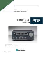 DRV Everfocus EDR 810 410