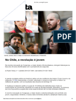 No Chile, A Revolução é Jovem