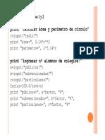 Clase 2 - Funciones