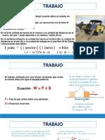 Trabajo Energu00eda Cinu00e9tica Teorema (Trabajo Energu00eda)