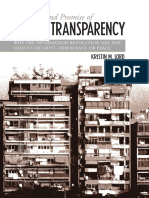 Kristin M. Lord the Perils and Promise of Global Transparenc Why the Information Revolution May Not Lead to Security