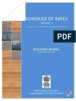 Schedule of Rates Building Works Vol i 2017