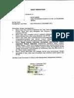 Surat Pernyataan Uken