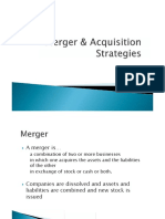 Merger & Acquisition, JV Strategies