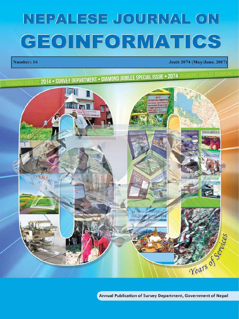 Nepalese Journal on Geo-informatics Number 16   Earthquakes