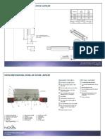 NOVA Mechanical Edge of Dock Architectural Drawing