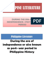 Philippine Literature to Be Submitted