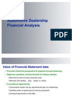 Automotive Financial Analysis